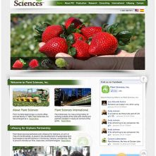 Plant Sciences Website